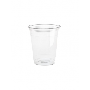 12oz Clear Plastic Smoothie Cup
