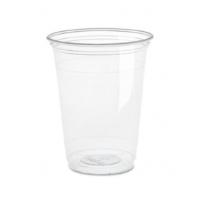 20oz Clear Plastic Smoothie Cup