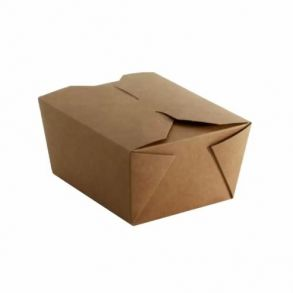 No1 Kraft Biodegradable Leakproof Container