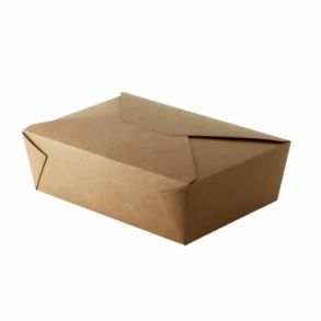 No3 Kraft Biodegradable Leakproof Container