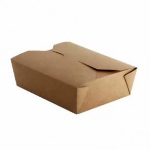 No5 Kraft Biodegradable Leakproof Container