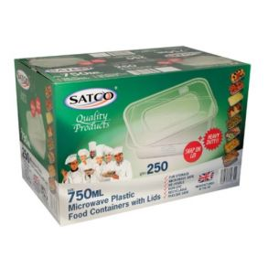750ml Satco Containers with Lids