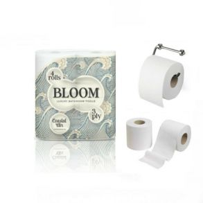Bloom 3ply Toilet Roll